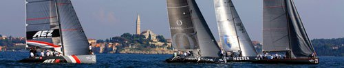 Sailing the Rovinj's archipelago